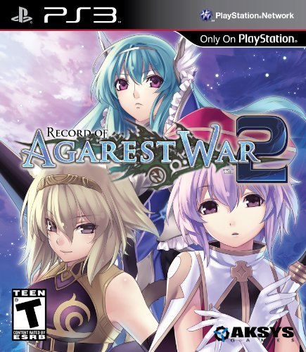 Ps3 Record Of Agarest War 2 Aksys Games T