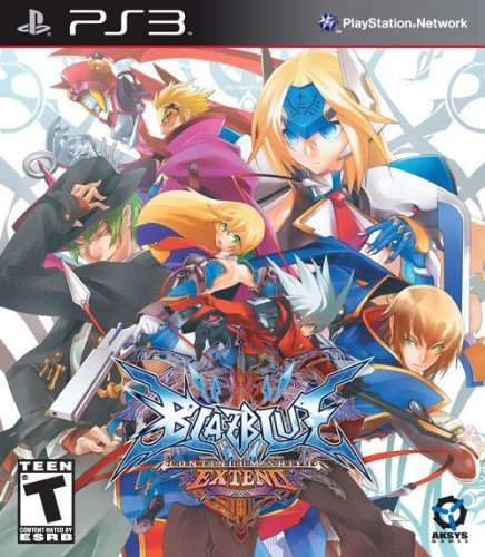 Ps3 Blazblue Continuum Shift Extend Le