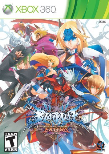Xbox 360 Blazblue Continuum Shift Extended Le