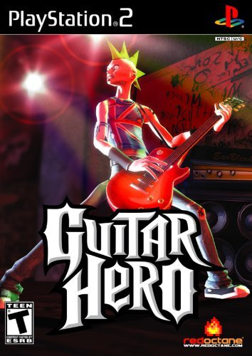 Ps2 Guitar Hero (game Only)