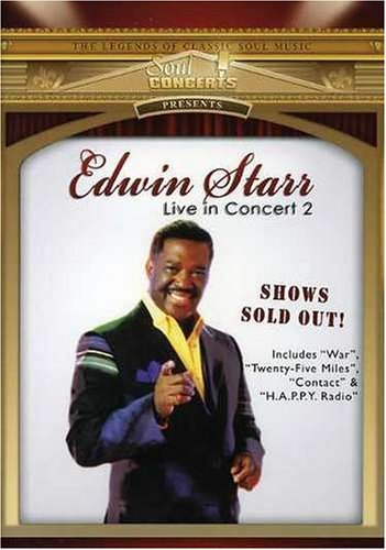 Edwin Starr Live In Concert