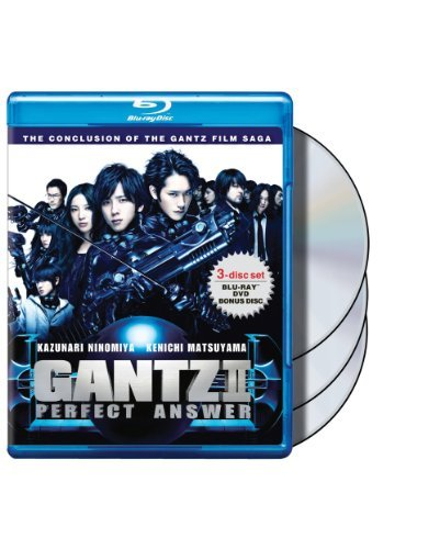 Gantz 2 Perfect Answer Ninomiya Matsuyama Blu Ray Ws Nr Incl. DVD