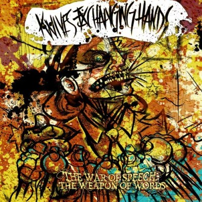Knives Exchanging Hands War Of Speech Weapon Of Words