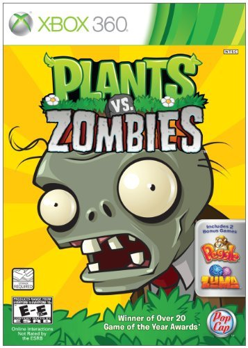 Xbox 360 Plants Vs. Zombies