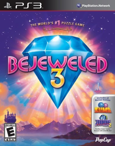 Ps3 Bejeweled 3 W. Zuma & Feeding Frenzy 2