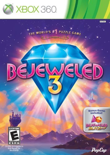 Xbox 360 Bejeweled 3 With Bejeweled Blitz Live