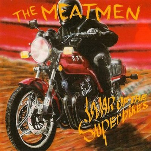 Meatmen War Of The Superbikes Clear Vinyl Clear Vinyl Lmtd Ed.