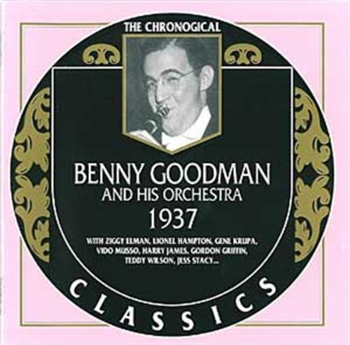 Benny & His Orchestra Goodman 1937 Import Fra