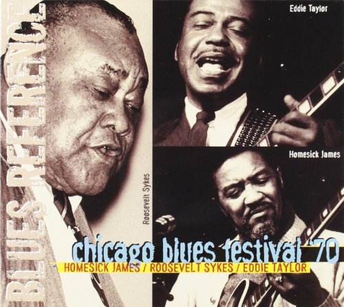 James Sykes Taylor Chicago Blues Festival 70 Import