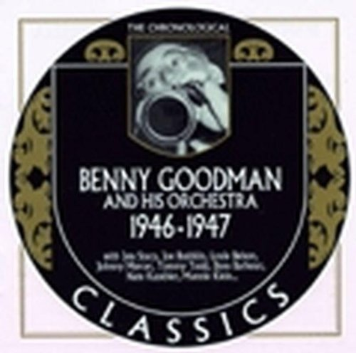 Benny & His Orchestra Goodman 1946 47 Blank
