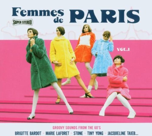 Femmes De Paris Vol. 1 Femmes De Paris Import Fra Incl. Bonus Tracks Digipak
