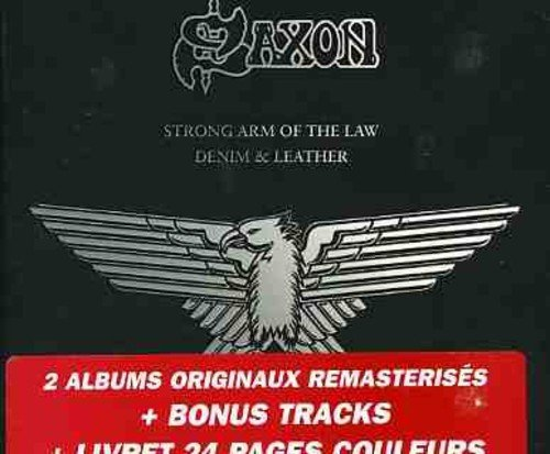 Saxon Strong Arm Of The Law Denim & Import Can 2 CD