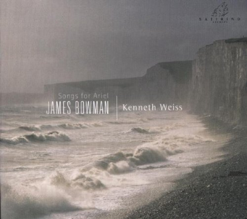 Songs For Ariel Works By Britten Dowland Gant Bowman (ct) Weiss (hpd)