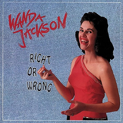 Wanda Jackson Right Or Wrong 4 CD Incl. Book