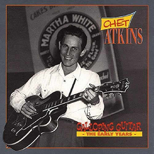 Chet Atkins Gallopin' Guitar 4 CD Incl. Book