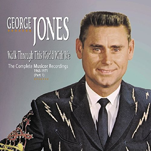 George Jones Walk Through This World With M 5 CD Incl. Book