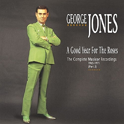 George Jones Good Year For The Roses 4 CD