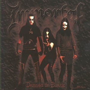 Immortal Damned In Black Import Gbr