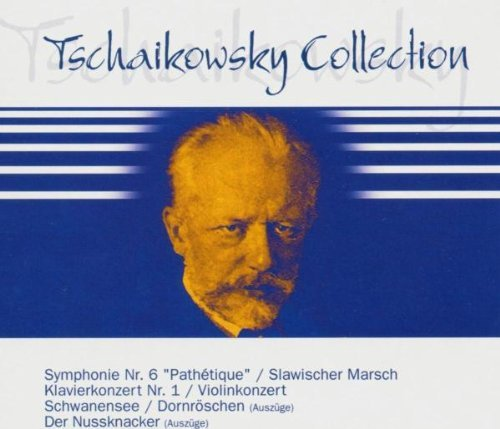 P.I. Tchaikovsky Tchaikovsky Collection Import Eu 4 CD Set