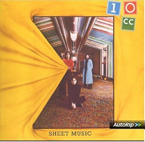 10cc Sheet Music Import Eu Incl. Bonus Tracks
