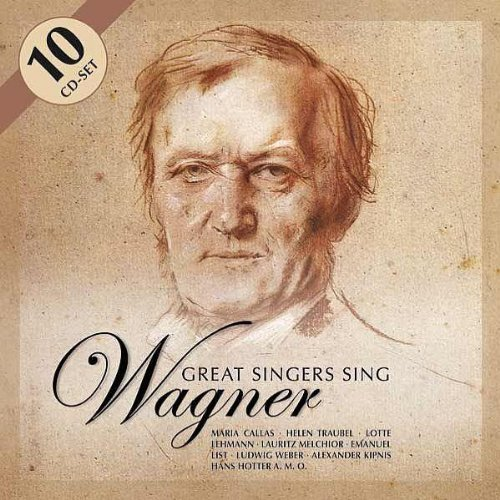 Great Singers Sing Wagner Great Singers Sing Wagner Import Eu 10 CD Set