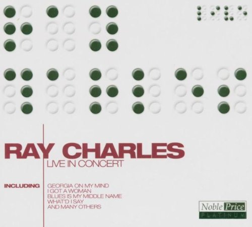 Ray Charles Live In Concert Noble Price Pl Import Eu