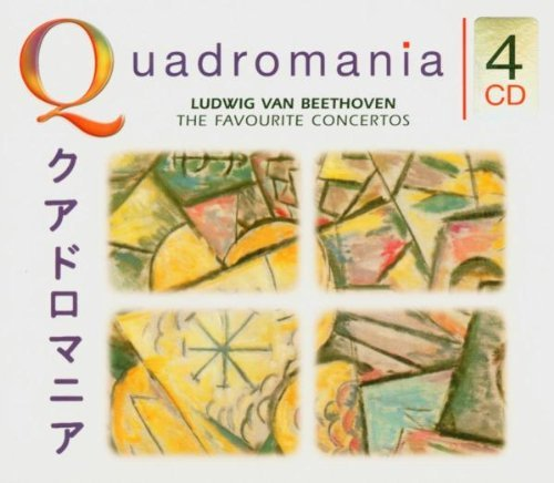 L.V. Beethoven Pno Cons 1 5 Violin Con Triple Import Eu 4 CD Set Roll Leonskaja Kantorow Wallfi
