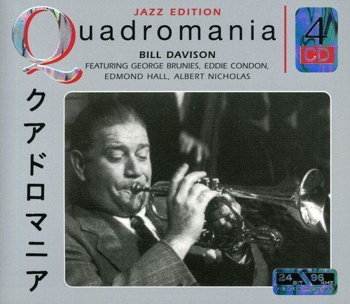 Wild Bill Davison Feat. George Brunies Eddie Con Import Eu 4 CD Set