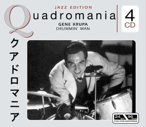 Krupa Gene Drummin' Man Import Eu 4 CD Set