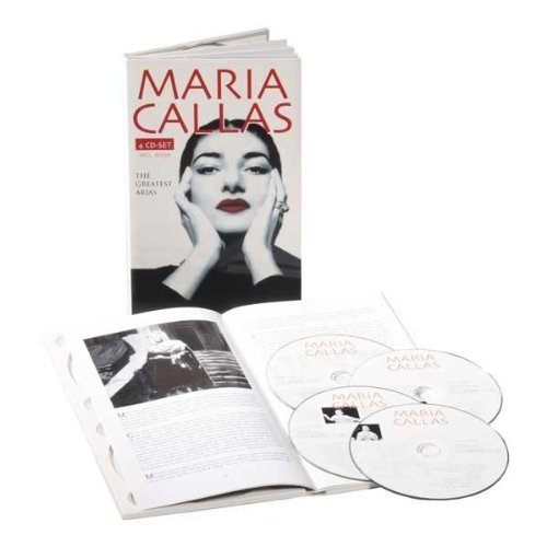 Maria Callas Greatest Arias 1949 55 1974 (4 Import Eu 4 CD Set