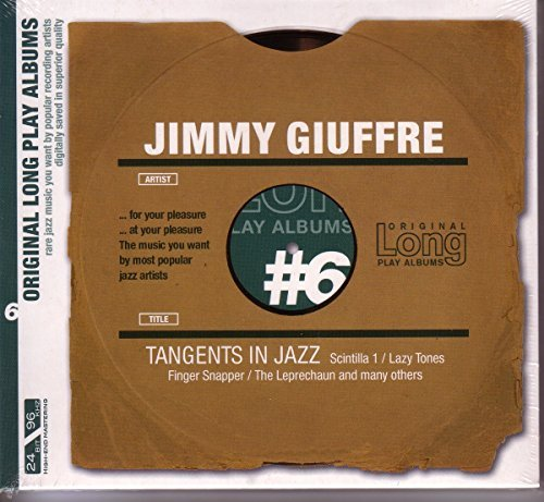 Jimmy Giuffre Tangents In Jazz Import Eu Remastered