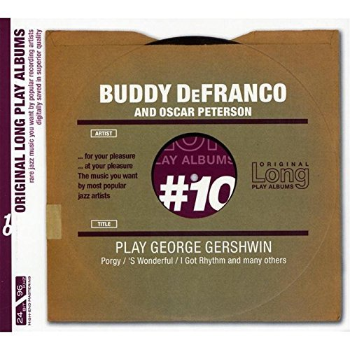 Buddy De Franco Play George Gershwin Import Eu Remastered
