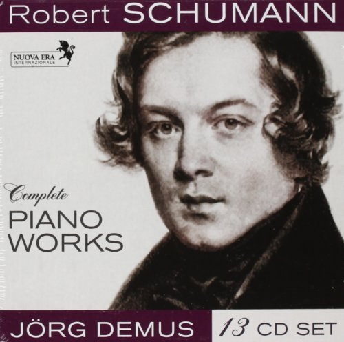 R. Schumann Complete Piano Works Import Eu 13 CD Set