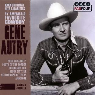 Gene Autry 80 Original Hits By America's Import Eu 4 CD