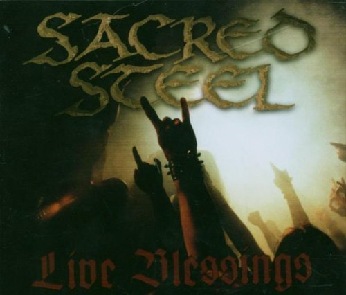 Sacred Steel Live Blessings Import Gbr Incl. Bonus DVD 2 CD Set Pal 0
