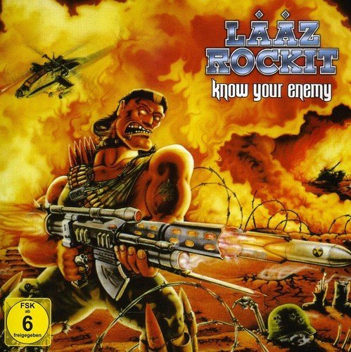 Laaz Rockit Know Your Enemy Import Eu Incl. Bonus DVD