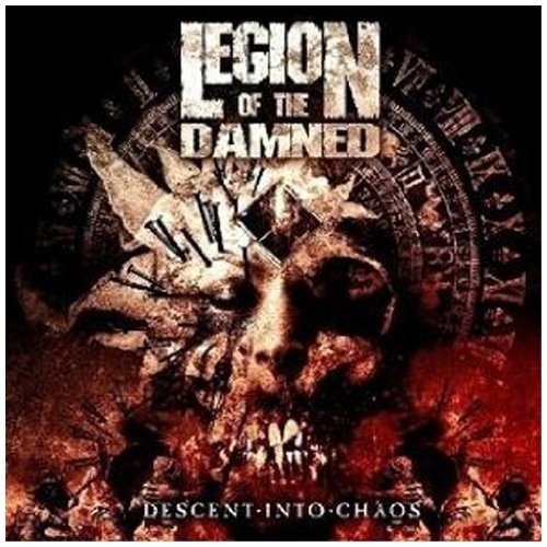 Legion Of The Damned Descent Into Chaos (cd & Dvd) Import Eu Incl. DVD