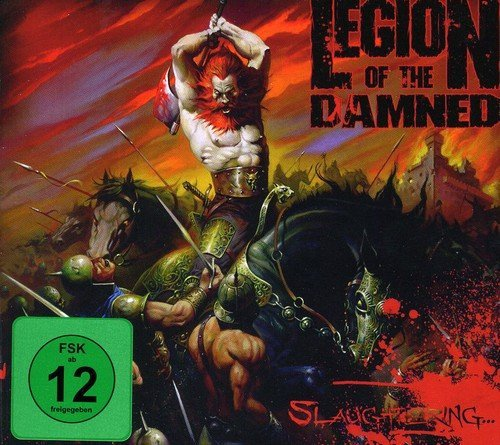 Legion Of The Damned Slaughtering Import Gbr
