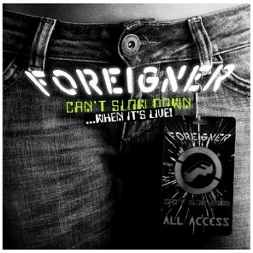 Foreigner Can't Slow Down When It's Live Import Gbr 2 CD