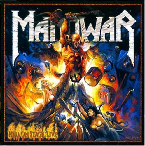 Manowar Hell On Stage Live Import Gbr 2 CD