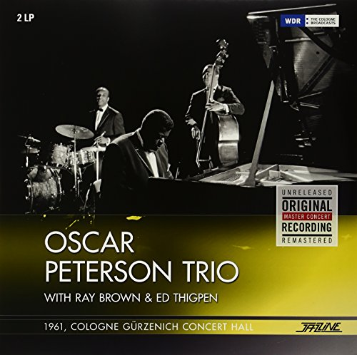 Oscar Trio Peterson 1961 Cologne Guerzenic