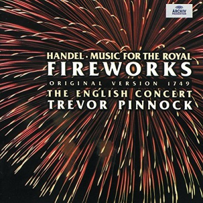G.F. Handel Fireworks Pinnock English Concert