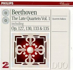 Beethoven L.V. Qt Str 12 13 16 Grosse Fug 2 CD Set Qto Italiano