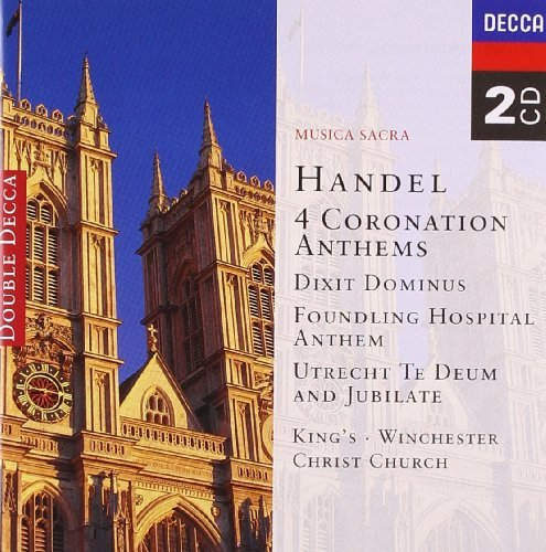 Handel G.F. Coronation Anthems 2 CD Set Various