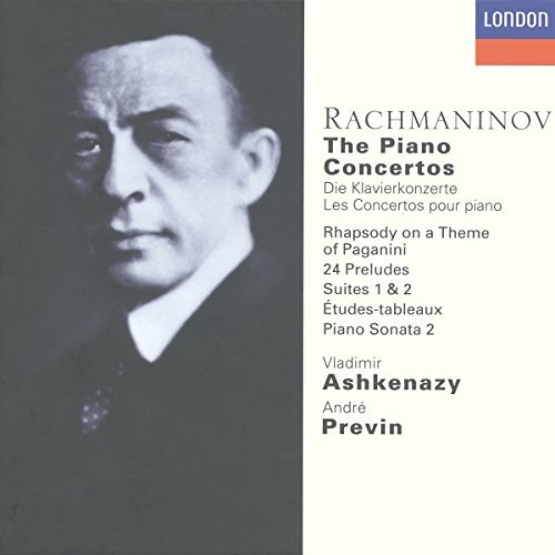 Ashkenazy Previn London Sympho Piano Concertos Suites Prelude Ashkenazy (pno) Previn London So