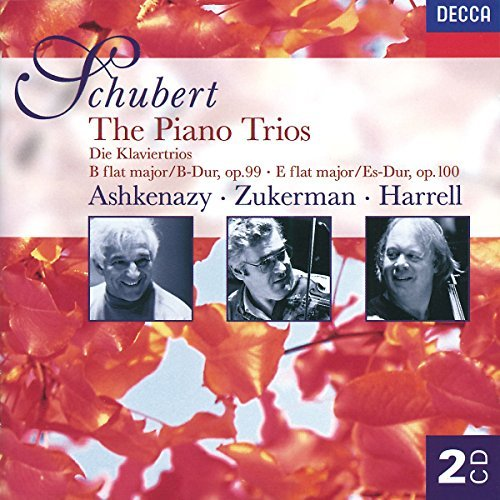 Schubert F. Trio Pno 1 2 Zukermann Harrell Ashkenazy 2 CD Set