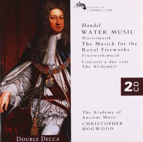 Hogwood Academy Of Ancient Mus Water Music Music For The Roya 2 CD Hogwood Aam