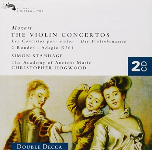 Standage Hogwood Academy Of An Violin Concertos 1 5 Rondos 2 CD Set Standage & Hogwood Aam