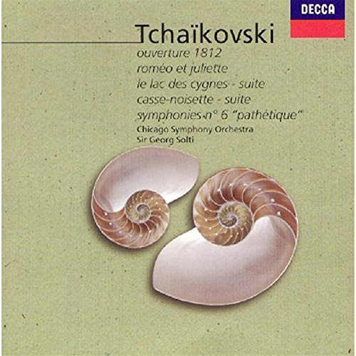 Solti Chicago Symphony Orch. Tchaikovsky Album (1812 Nutcra 2 CD Solti Chicago So