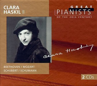 Clara Haskil Plays Beethoven Schumann Haskil (pno) Great Pianists Series